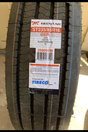 Brand new. Never used Geostar G574 Radial Trailer Tire ST235/85R16 G/14 Ply. for Sale in Roseville, CA