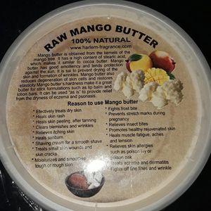 Raw Mango Butter S(.5lb)/ M(1lb)/ L(2lb) for Sale in Neptune City, NJ