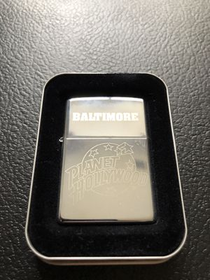 Vintage Baltimore planet Hollywood zippo for Sale in Clinton Township, MI
