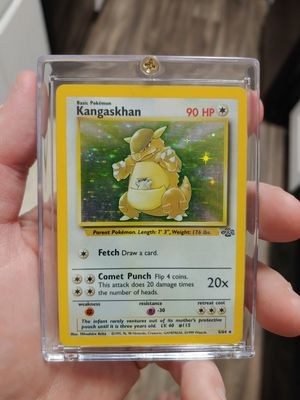 Pokemon Card Kangaskhan Holo for Sale in Maitland, FL