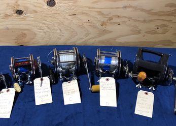 ROCK COD SPECIAL REELS .......................Penn,Diawa , SHIMANO , Sabre ,sen for Sale in Buena Park,  CA