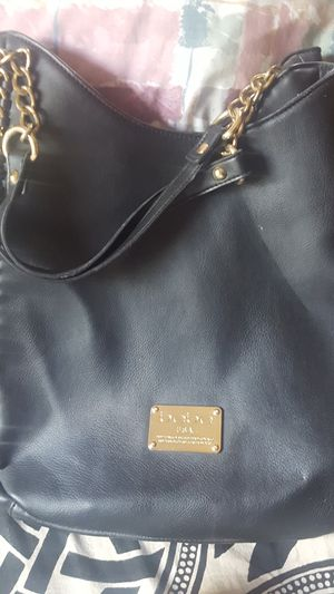 Bebe black leather purse for Sale in Miami, FL