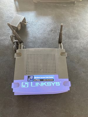 Linksys WAP router 2.4 GHz - 802.11b for Sale in Santee, CA