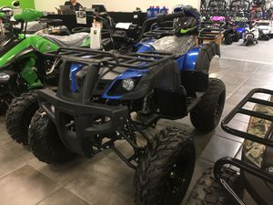 150cc Bull Blue 4 wheeler for Sale in Dallas, TX