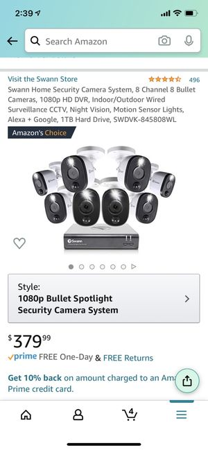 Swan security cameras for Sale in Philadelphia, PA