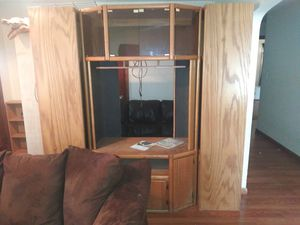 Classic Wooden Entertainment Center for Sale in Beech Grove, IN