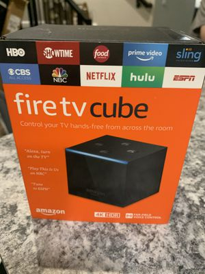 Fire TV Cube for Sale in Dallas, TX