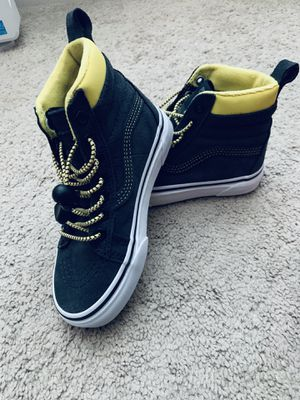 Kids VANS Yellow/Gray for Sale in Washington, DC