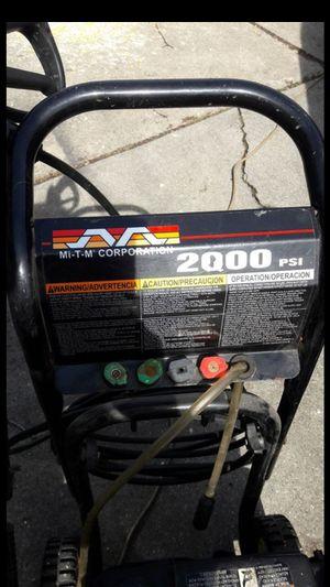 MI-T-M Gas pressure washer for Sale in Roseville, MI