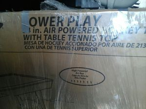 AIR POWERED HOCKEYTABLE with TABLE TENNIS TOP for Sale in Detroit, MI