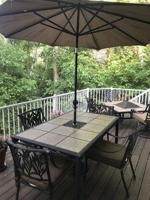Patio furniture set for Sale in Eden Prairie, MN