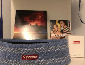 Supreme baby blue headband ‼️‼️ for Sale in Perth Amboy, NJ