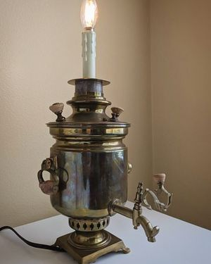 Antique Brass Lamp (Brewer) for Sale in Seattle, WA