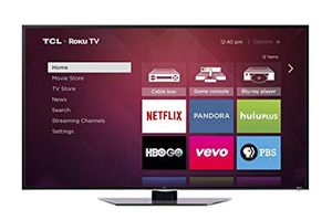 55 inch tcl roku smart tv 4k led uhd for Sale in Newport, RI