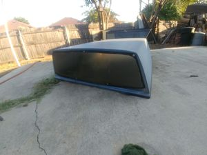 Fiberglass camper shell for small truck for Sale in Arlington, TX