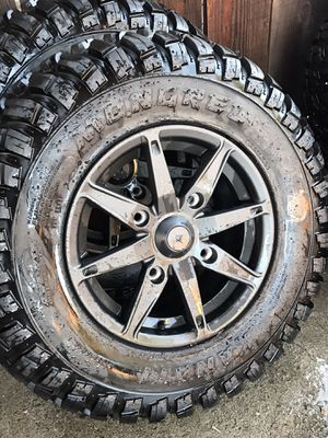 "15"" Turbo S RZR wheels for Sale in Universal City, CA"