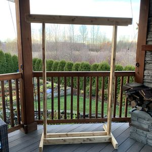 """Cedar arch : for birthday party , wedding , baby shower !!! 56"""" W 72"""" H for Sale in Vancouver, WA"""