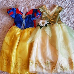 Disney Store: Tiana, Snow White Dresses Size 5/6 for Sale in Aurora, IL