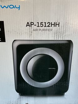 Air Purifier Coway Mighty Air HEPA AP-1512HH Black Open Box -NO FILTER for Sale in Plano, TX
