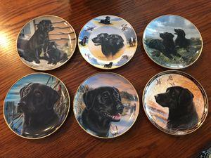 Labrador retriever collectors plates for Sale in Norco, CA