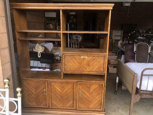 Bookshelves/entertainment center for Sale in Lodi, CA