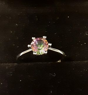 Rainbow Topaz Ring for Sale in Portage, IN
