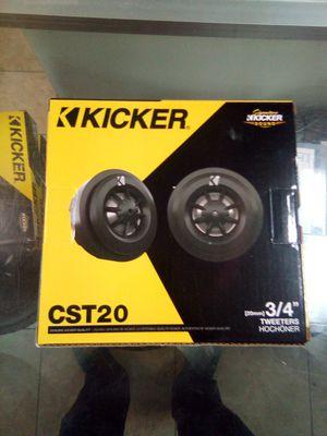 Kicker cst20 for Sale in Las Vegas, NV