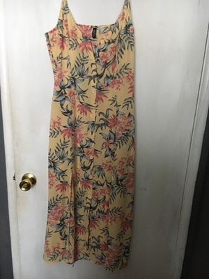 Yellow Floral Dress for Sale in Garden Grove, CA
