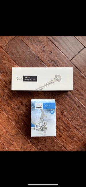 AirMini AirFit F20 Medium Mask & F20 Setup Pack New Never Opened for Sale in Hillsboro, OR