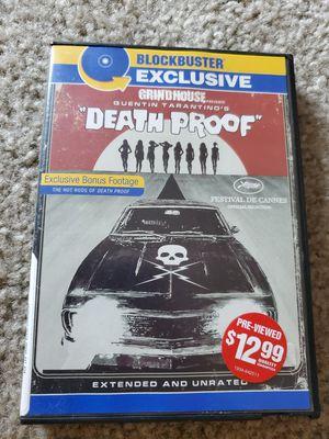 Death proof dvd for Sale in San Jacinto, CA