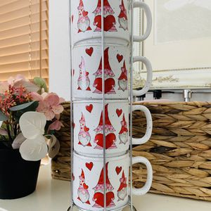 Valentines Gnome Mugs With Stand for Sale in Littlerock, CA