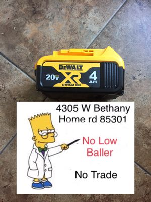 $45 No Menos !! $45 Firm No Offers please. (Delivery is available) for Sale in Glendale, AZ