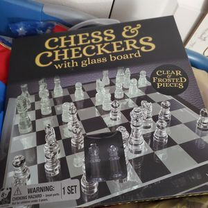 Chess Or Checkers Game for Sale in Kent, WA