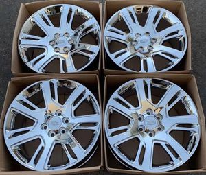 "22"" Cadillac Escalade factory wheels rims chrome new for Sale in Santa Ana, CA"