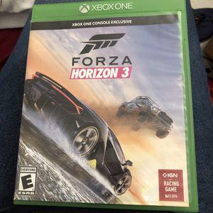 Forza Horizon 3 Xbox One for Sale in Pompano Beach, FL