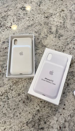 iPhone X / XS Smart Battery Case - White for Sale in Scottsdale, AZ