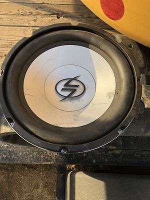 "12"" sub for Sale in Beaumont, CA"