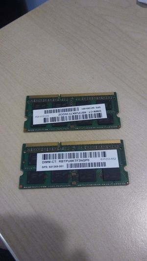 2x 4gb ram sticks for Sale in Tacoma, WA