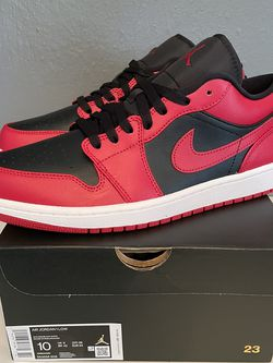 Nike Air Jordan 1 Low Reverse Bred Men's Size 10 DS for Sale in Oregon City,  OR