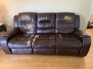 Reclining couch and loveseat for Sale in Salem, VA