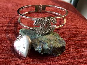 Clamper Bracelet & Locket for Sale in Sierra Vista, AZ
