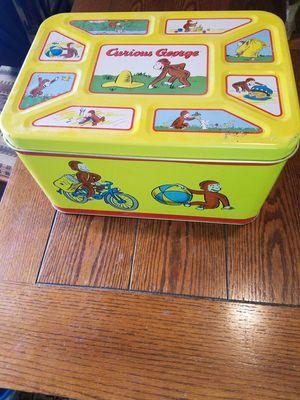1998 curious George tin for Sale in Tucson, AZ