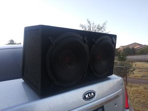 12 subwoofer en perfectas condiciones no rotas jalan masiso $120 for Sale in Phoenix, AZ