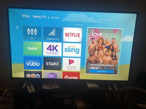 "TCL 55"" 4K Roku TV for Sale in Columbus, OH"