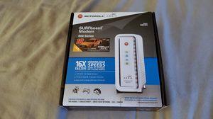 Surfboard modem 600 series Motorola for Sale in Seattle, WA
