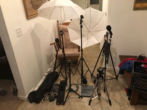 Music recording and photography podcast equipment for Sale in Varna, IL