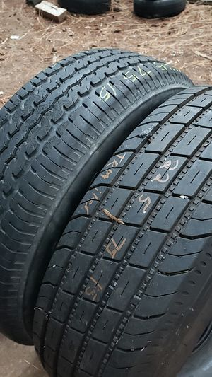 225/75/15 pair of oddball trailer service tires for Sale in Bellevue, WA