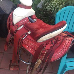Montura Charra Charro Saddle for Sale in Jurupa Valley, CA