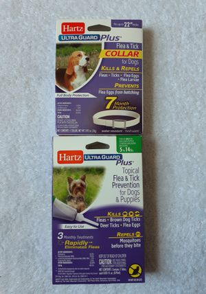Brand New Flea And Tick Collar & Topical Flea And Tick Prevention for Sale in Kissimmee, FL