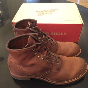 Red Wing Blacksmith Boots. 11m Never worn. for Sale in Falls Church, VA